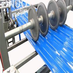Construction fiberglass gel coat roof anti-UV sheet machinery
