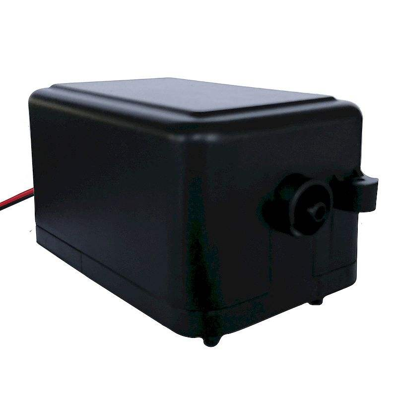 Low Noise air pump for bubble wall