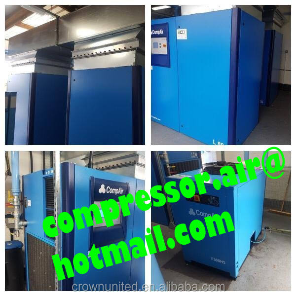 Heat recovery Systems for air compressors, CompAir