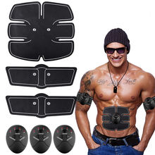 newest  Body Building ABS Belt EMS fitness ab muscle stimulator