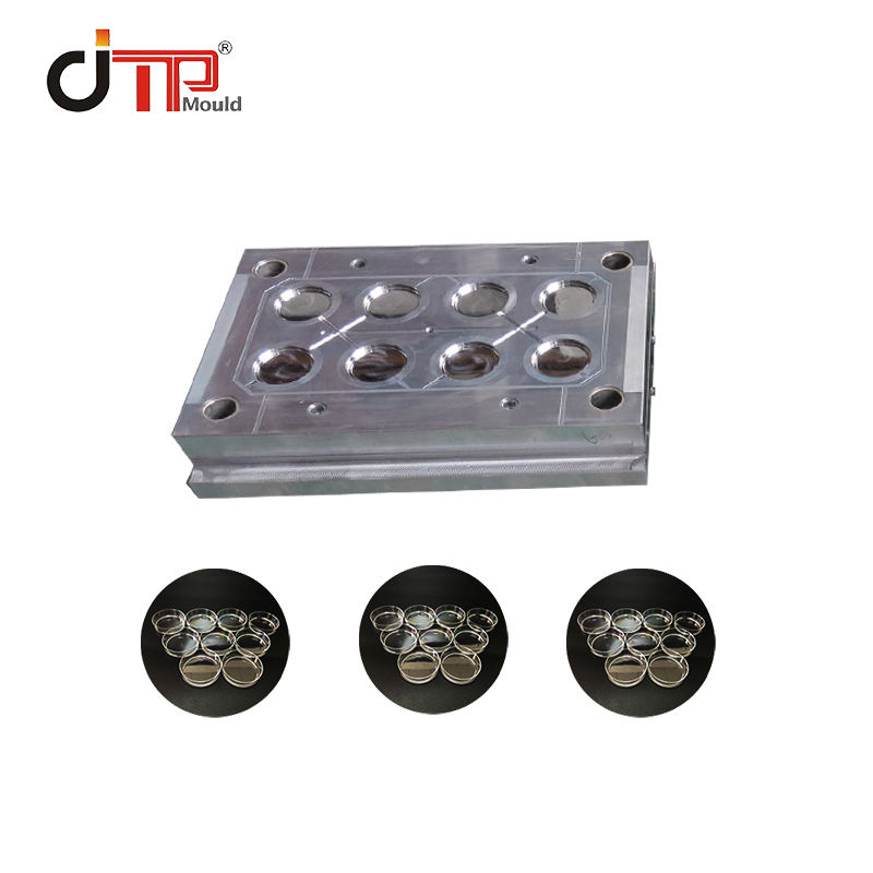 High transparent Customized High quality 80 Petri dish mould