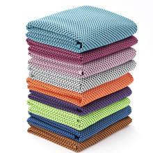 Wholesale summer microfiber quickly dry  cooling fabric cooling towel