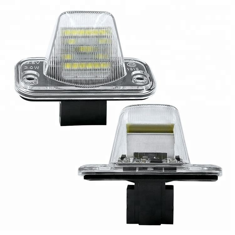 Plástico para VW T4 Tranaporter LED license plate luz Fabricante Shenzhen