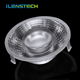 60mm acrylic aspheric cob led lens manufacturer 12; 24 beam angle