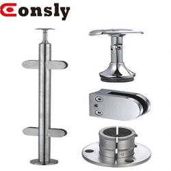 Stainless steel handrail accessories for Bridge, Deck, Porch and Stair Balustrades & Handrails
