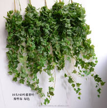 Wholesale hanging plants green artificial ivy leaf vines for sale