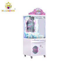 Coin operated Transparency Cabinet Claw Crane Machine Claw Machine Game,coin operated game machine
