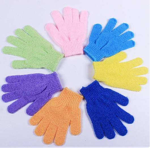 ZM Shower Mitt Bath Mitten/Shower Glove/Bath Massager Glove ,Exfoliating