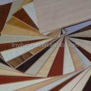 laminated plywood/Melamine paper faced plywood 18mm