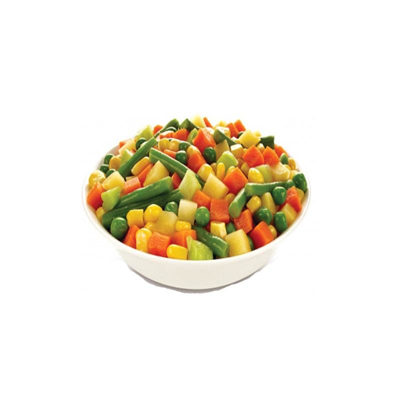 New Crop Fresh Cheap Canned Mixed Vegetables Food with Carrot and Green Peas