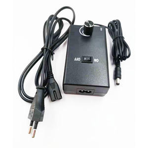 Adjustable Tegangan AC DC Power Adapter 3-12 V 2A 24 W Switching Power Supply untuk Fan