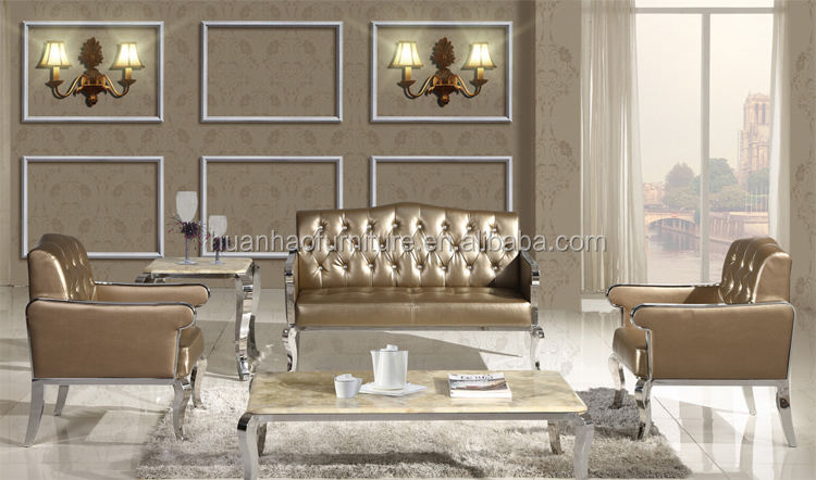 S04 factory bottom price leather sofa furniture , chesterfield sofa