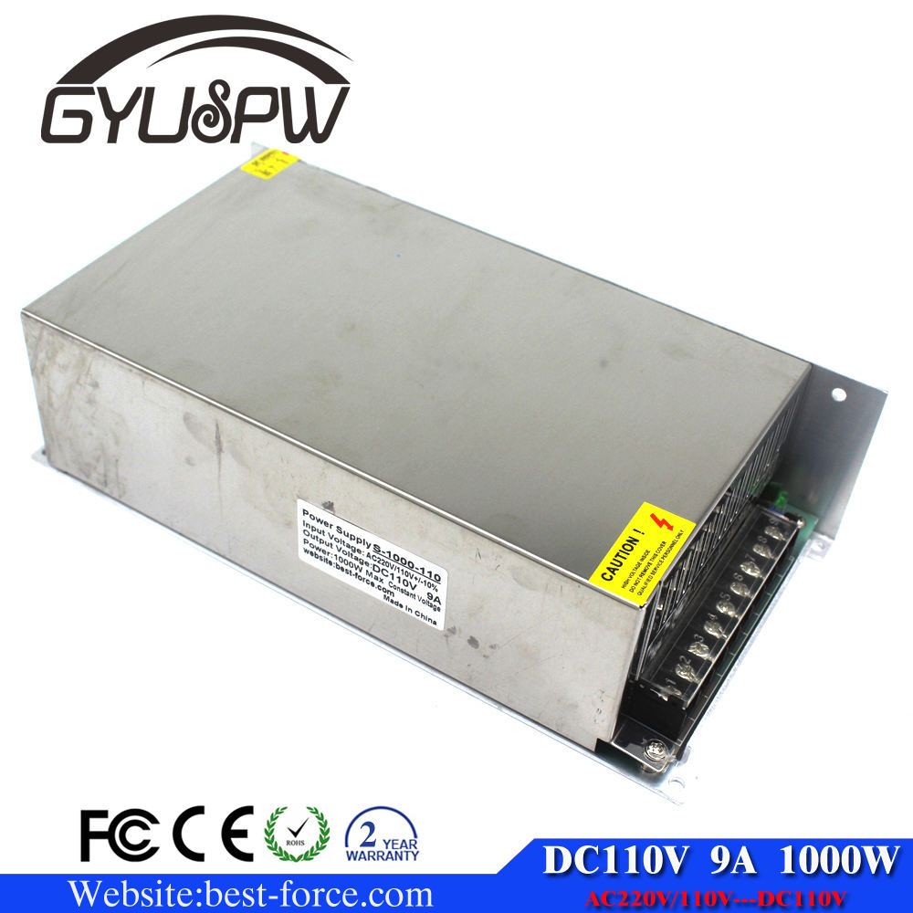 High-power switching power supply 1000W 110v 9A Single Output ac dc converter for Mechanical equipment CNC CCTV Motor