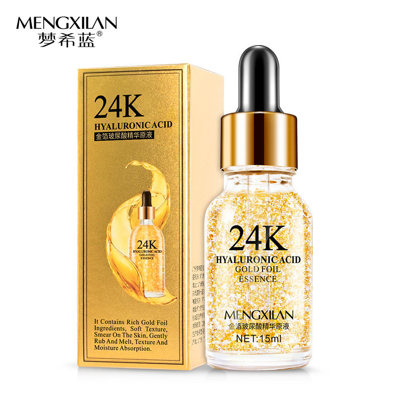 Sérum anti-âge à l'acide hyaluronique doré 24 k OEM & ODM