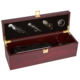 Perfect Wood Single Wine Box And Wine Accessories Gift Box Set And Red Wooden Wine Box