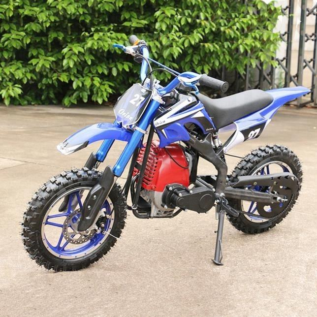 Mini Kreuz Benzin Dirt Bike 49cc für Kinder 4 hub