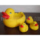 baby bath rubber duck set , bath duck set with mother duck , floating rubber duck family