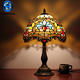 Home good Stained Glass table Lamps Wholesale for christmas interior decoration