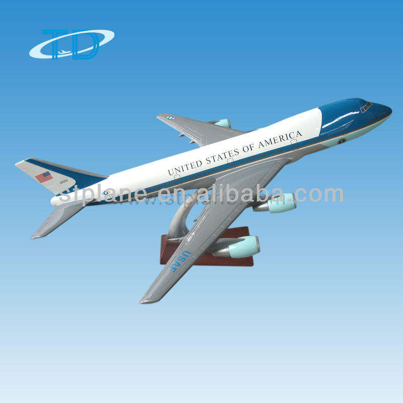 United States of America Boeing 747-200 business gift model