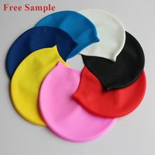 Customize Cartoon SwimCap, Printing Logo Brand Silicone Swimming Cap