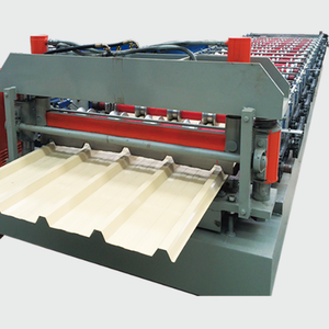 Metal Sheet Rolling Machine,Double Layer Forming Roll Line,Double Deck Production Equipment