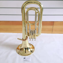 3 piston valve baritone music instrument/baritone horn/marching baritone
