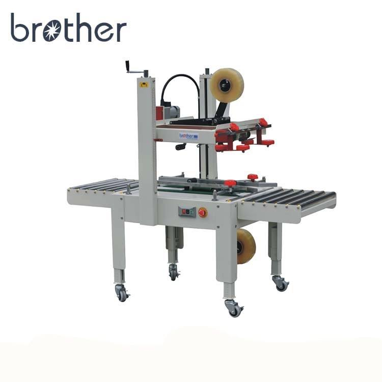 FXJ6050 Brother Semi Automatic Adhesive Case Carton Tape Sealer Box Sealing Packaging Machine