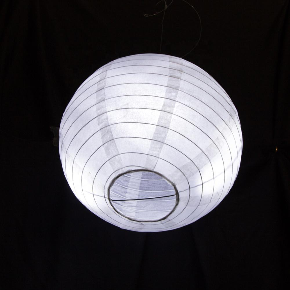 Wholesale Party Decoration Hanging 30センチメートルRound Tissue Lamp Led Paper Lantern