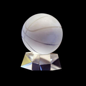 Promotional Crystal Ball For Business Souvenirs