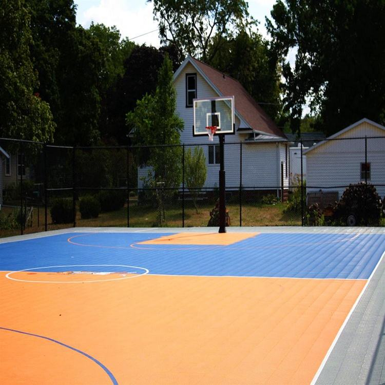 2020 hotsell Multisport pp interlocking sports hall flooring material used basketball courts for sale