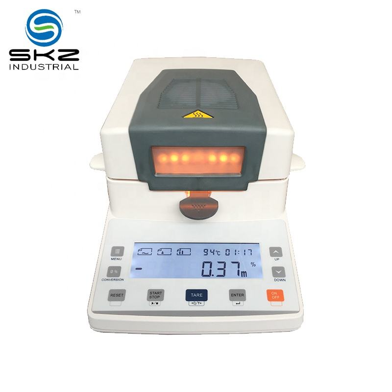 halogen rapid infrared moisture meter for powder granular