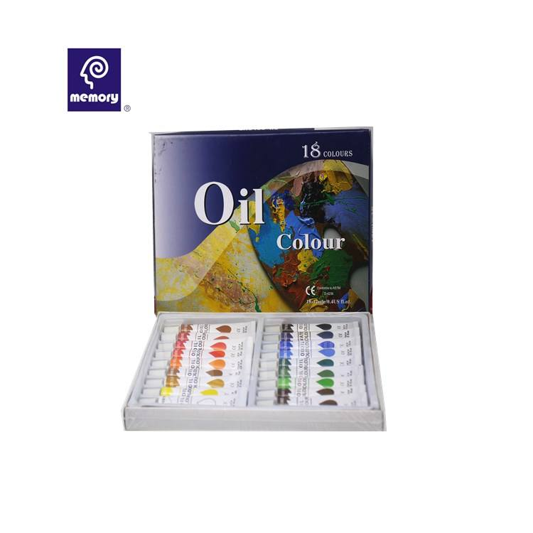 Memory high quality oil paint sets artist oil paint marie's oil paints for wholesale