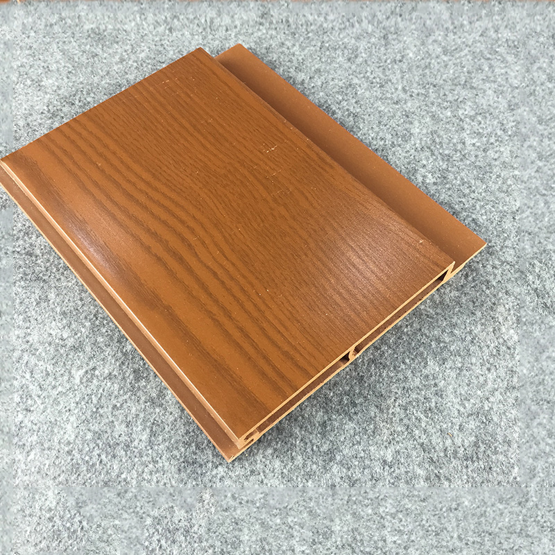 Light Weight PVC-WPC Wood Color Wall Cladding Panels for large meeting room Interior Decoration