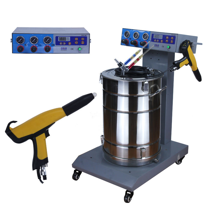 electrostatic powder metal coating machine equipment