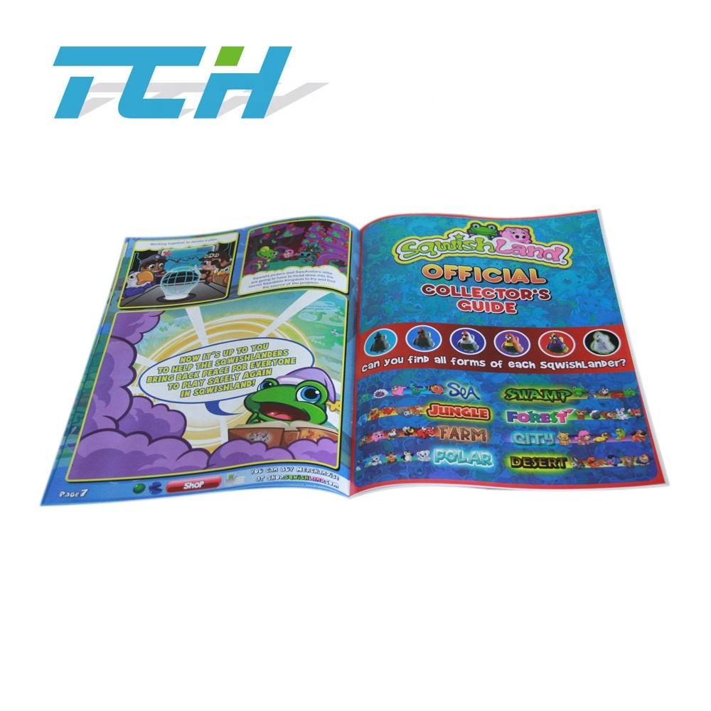 Напрямую с Фабрики Пользовательские Softcover Высокое Качество Комиксов книги