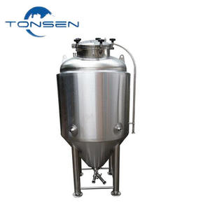 Hot selling beer fermentation tank used 100l 200l 300 500l mini beer equipment with stainless steel