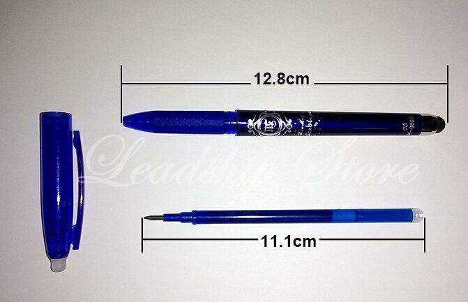 2 in 1 Stylus Ballpoint Pen Tablets Pen for Tablets Pads Erasable Touchable JP