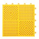 Eco friendly waterproof DIY splice PVC bath mat with drain plastic Floor Pvc Anti Slip DIY Bathroom Interlocking Mat