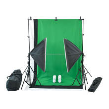 Chinese Suppliers Light Stands Photography Set With Backdrop Kit Fotografico