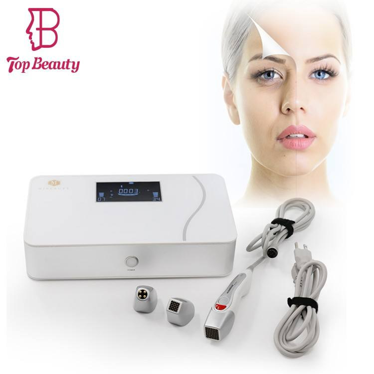 Top beauté secret rf fractionné microneedle/thermalift machine