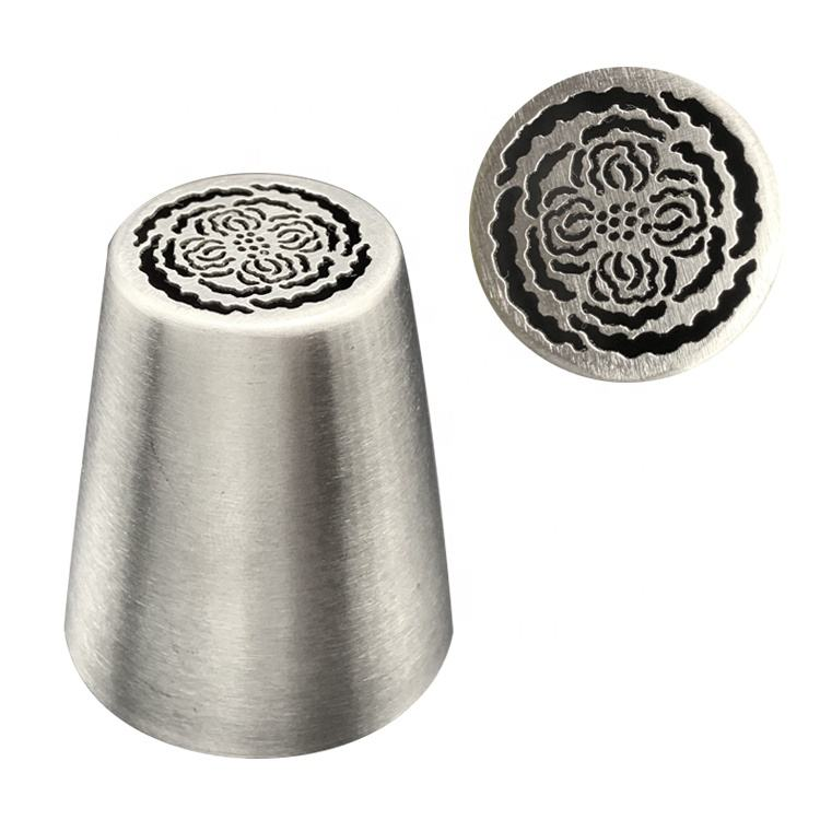 Stainless steel wilton cake decorating tools cake nozzle mould