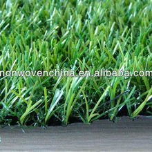 Environment Friendly Balcony Artificial Grass PP non woven Cloth Backing