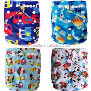 Eco Diapers for Baby Reusable Pocket Diaper Covers For Boys and Girls - Suitable Unisex