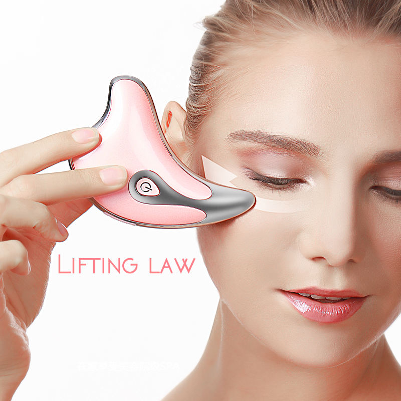 Mini Microcurrent Face Lifting Triangle Massager Toning Beauty devices