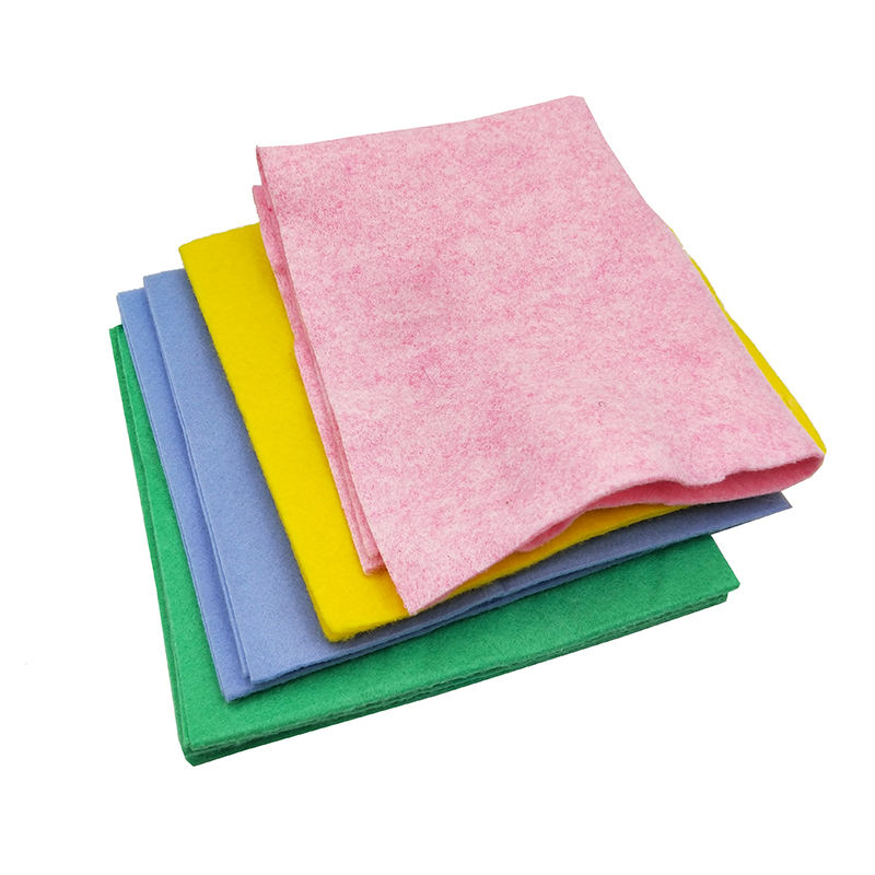 100% regenerated polyester felt needle punched Non Woven Fabric sheets and rolls polyester fiber sheet