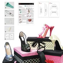 Latest New Fondant Cake Decorating 3D High Heel Shoe Kits Silicone Mold
