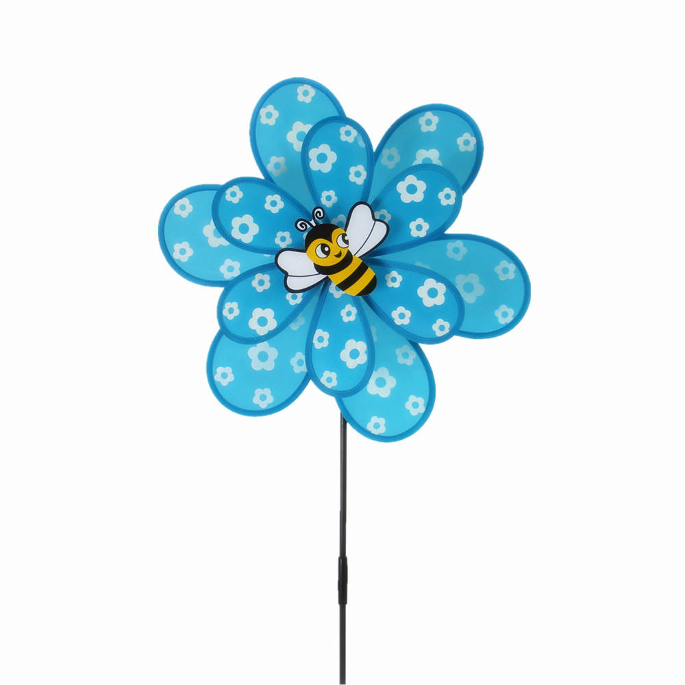 online whosale flower garden decoration windmill