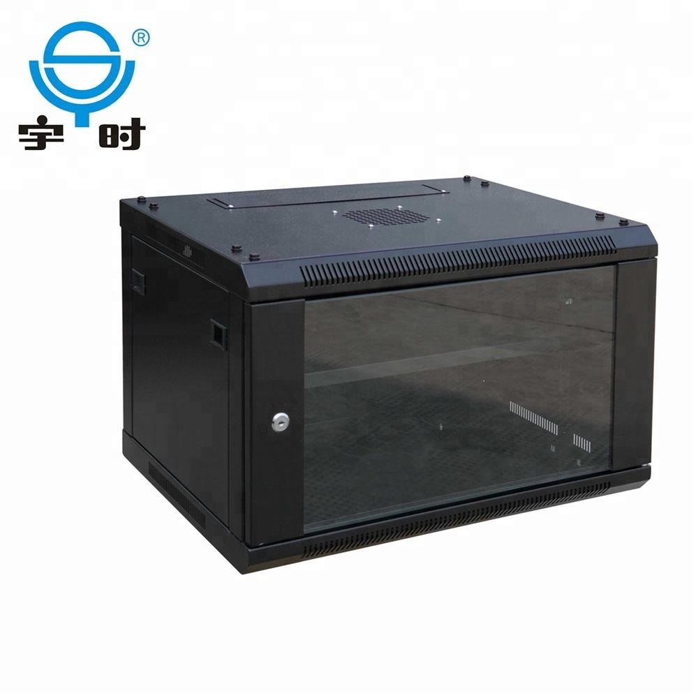 Wall Mount Wall Mount Network Cabinet OEM Factory 19 Inch 6U 9U Wall Mounted Network Cabinet For CCTV 19 Cabinet