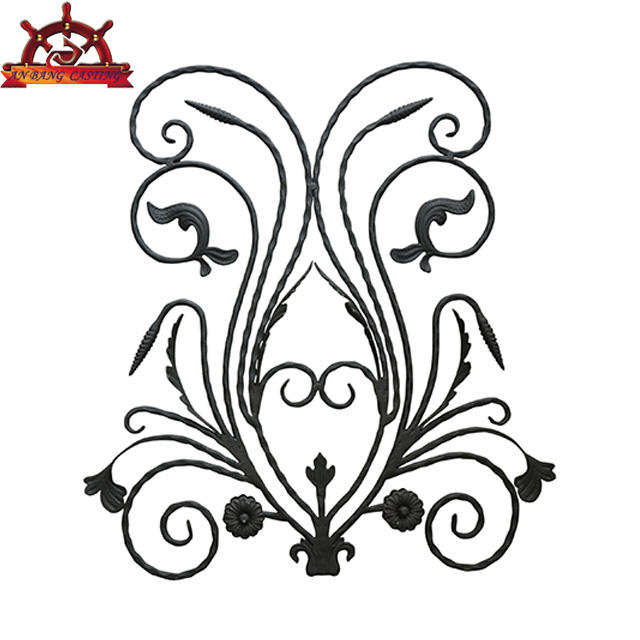 Cast Iron Metal Ornaments For Gate and fence Decorations