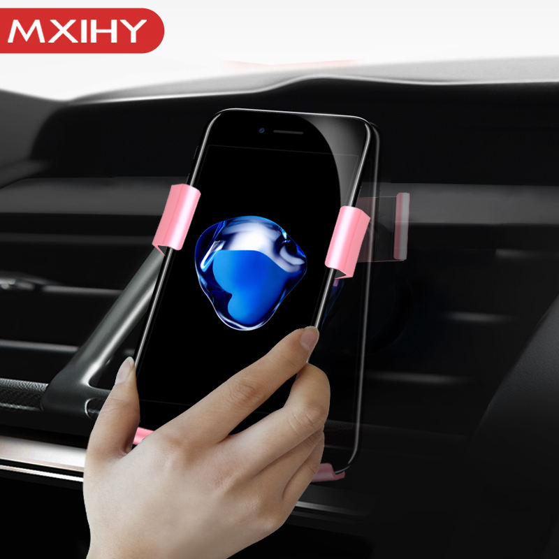 Mobile Accessories 360 Degree Rotating Air Vent Outlet Mobile Phone Holder for iPhone 7 Car Holder